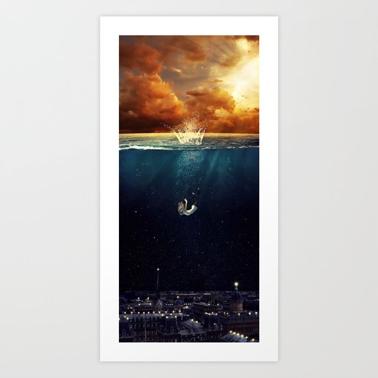 """Our Ends Are Beginnings"" - Limited Print Art Print"
