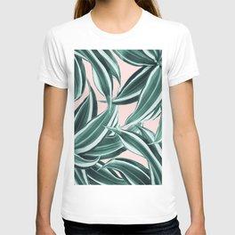 Dracaena Tropical Leaves Pattern #1 #tropical #decor #art #society6 T-shirt