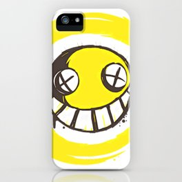 SMILEY--FACE iPhone Case