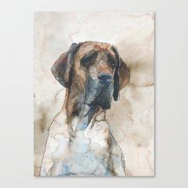 DOG #1 Canvas Print