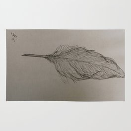 Goose Feather Rug