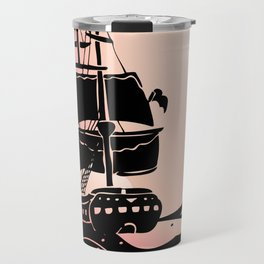 Colonial Ship Travel Mug
