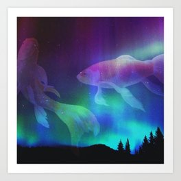 Walden Fish Art Print