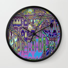 Gumby Loves Gidget A Wall Clock