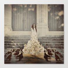 Bridal Portrait Canvas Print