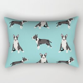 Bull Terrier dog breed pet friendly gifts terriers bull terriers Rectangular Pillow