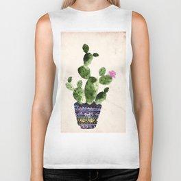 Blooming Cactus Biker Tank