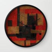 sagittarius Wall Clocks featuring Sagittarius by Fernando Vieira
