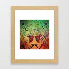 A Frogs World Framed Art Print