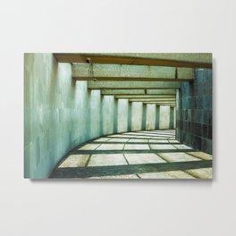 Clarity between shadows Metal Print
