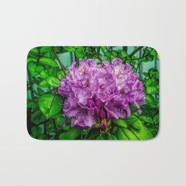 Fine Wine Cafe Light Purple Rhododendron Bath Mat