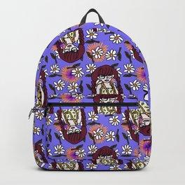 braids doll daisies purple Backpack