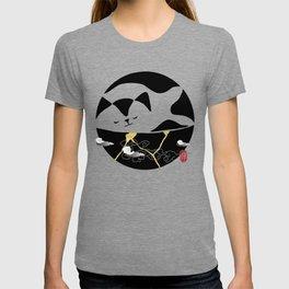 Zen Cat Kintsugi T-shirt