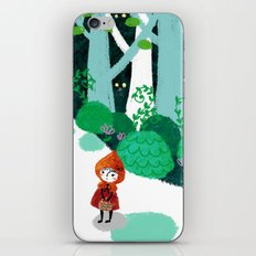 Red Riding Hood and The Wolf iPhone & iPod Skin
