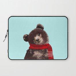 Baby bear in Christmas Mood Laptop Sleeve