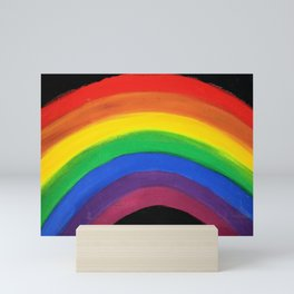 rainbow love (y) Mini Art Print