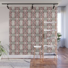Pink Lace Wall Mural
