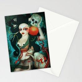 Sphynx Minx Stationery Cards