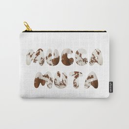 Mucca Muta italian 4 Stupid Cow Carry-All Pouch