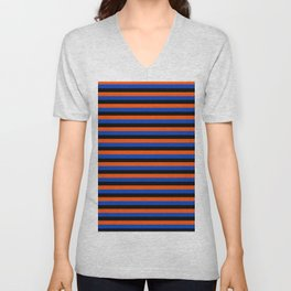 Color Stripe _001 Unisex V-Neck