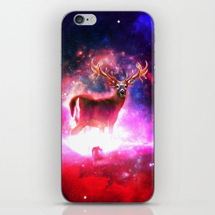 Cosmic Deer iPhone Skin