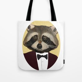 Sophisticated Raccoon Tote Bag