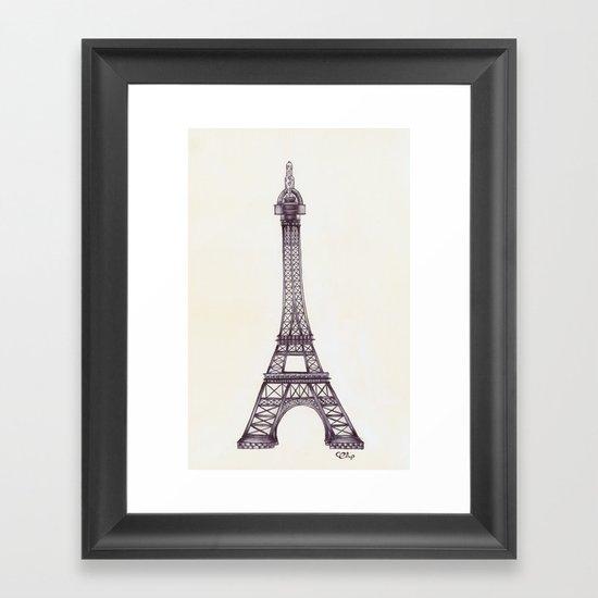Merci Beaucoup Framed Art Print