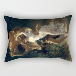 The Storm By Pierre Auguste Cot Rectangular Pillow
