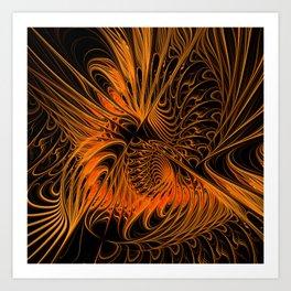 flame design -m- Kunstdrucke