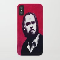 nick cave iPhone & iPod Cases featuring Nick Cave by James Courtney-Prior