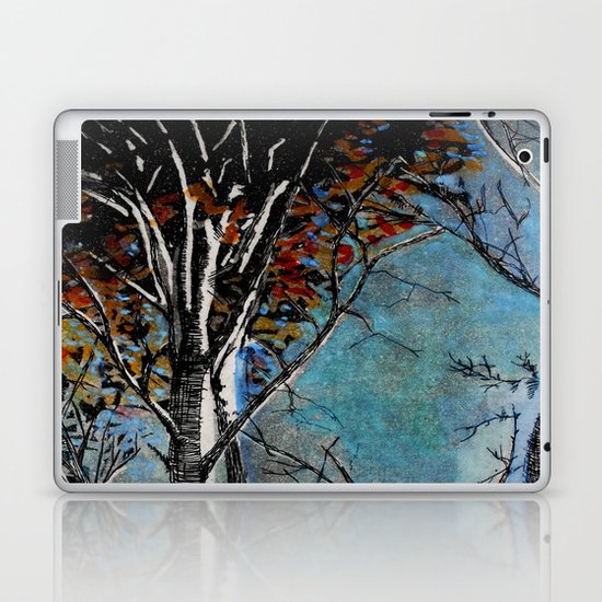Land of the Silver Birch Laptop & iPad Skin