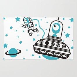 space Blue! Rug