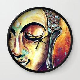 Be Present Wall Clock