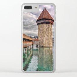 Kapellbrücke Clear iPhone Case