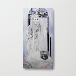 Waterfall Spirit Metal Print
