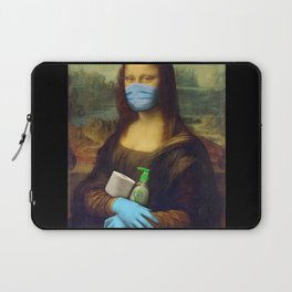 2020 Mona Lisa Laptop Sleeve