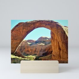 Rainbow Arch National Monument by Reay of Light Mini Art Print