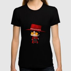 Chibi Alucard Black Womens Fitted Tee LARGE