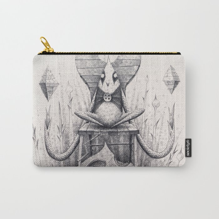 Owl Chair Carry-All Pouch