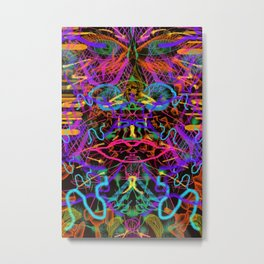 Whiffing Fire Metal Print