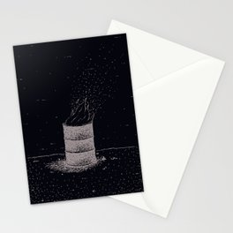 Barrel Fire Stationery Cards