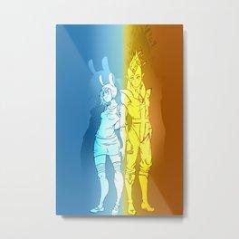 Fiona & Flame Prince Metal Print