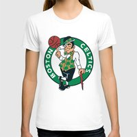 nba T-shirts featuring NBA - Celtics by Katieb1013