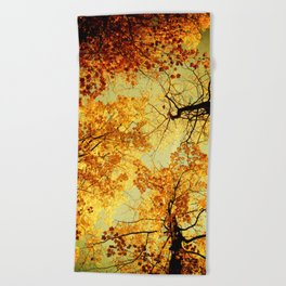 We Are Starlight, We Are Golden Beach Towel