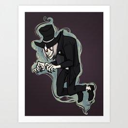 Grunder Spooker Art Print