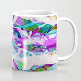 Abstract Trees Digital Art G552 Coffee Mug