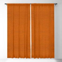 """""""Orange Burlap Texture Plane"""" Blackout Curtain"""
