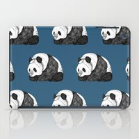 pandas iPad Cases featuring Pandas by Diana Hope