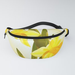 Spring Yellow Flowers #decor #society6 #buyart Fanny Pack
