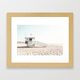 Somewhere in Cali Framed Art Print